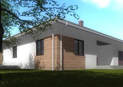 Projekt budynku jedorodzinnego KL PROJEKT RADOM
